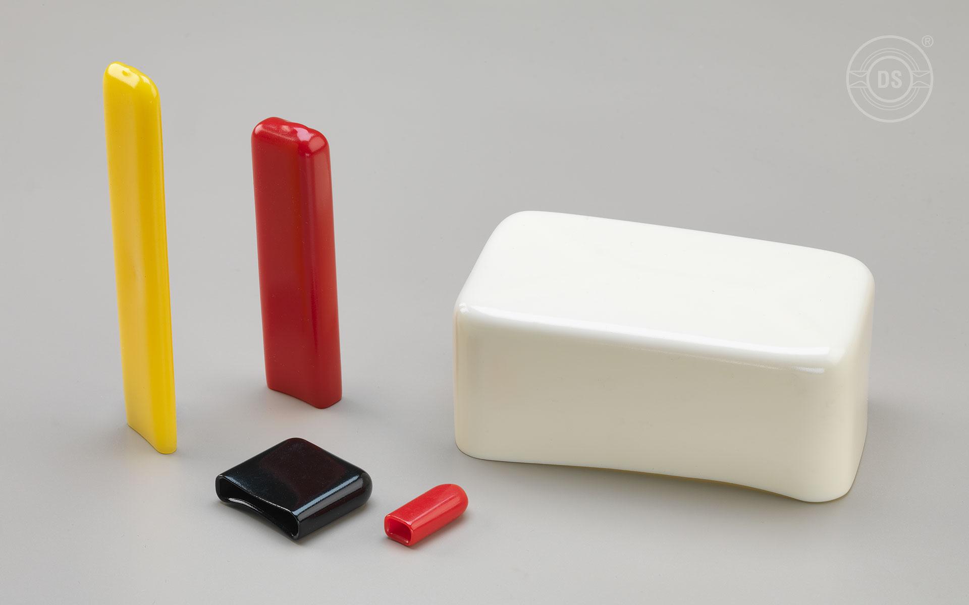 Rechteckkappen aus Weich-PVC