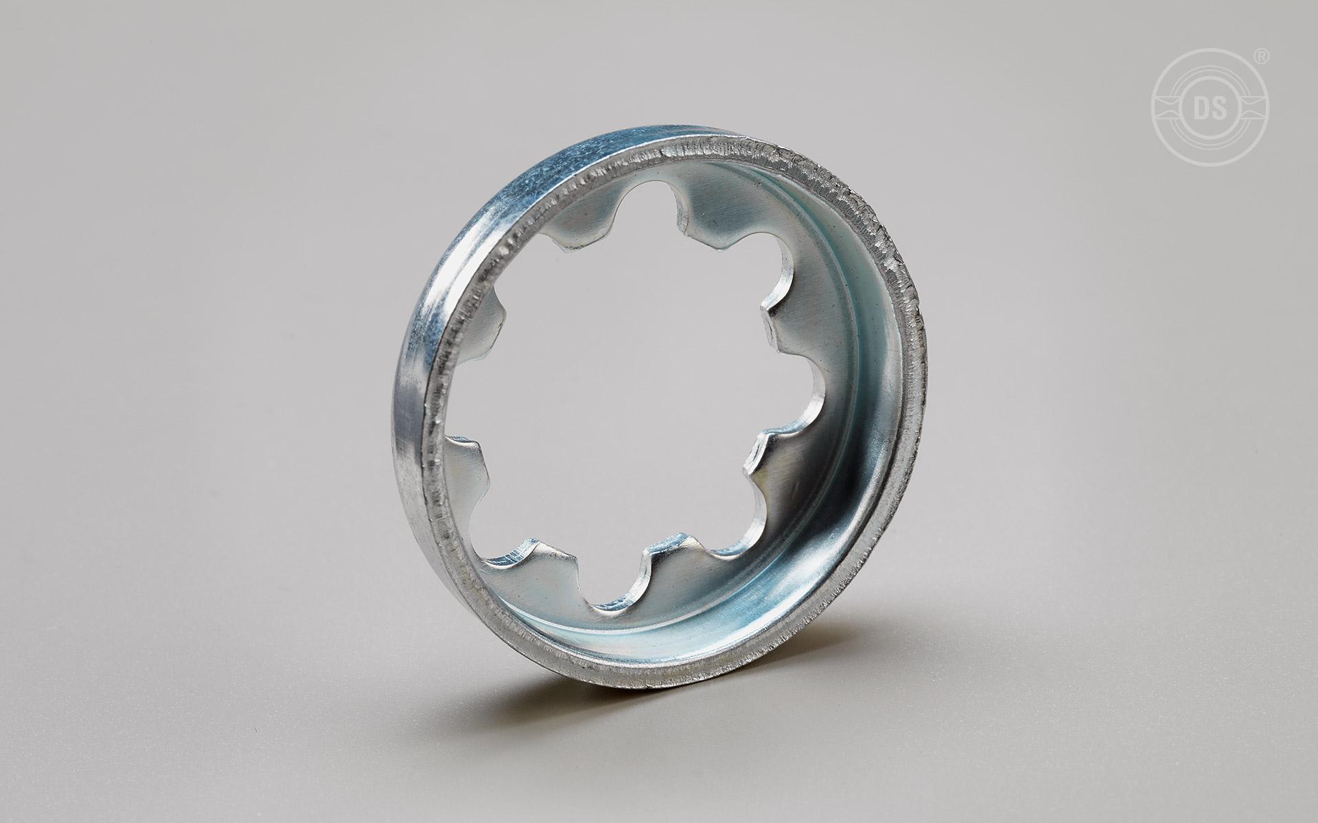 Zahntellerringe aus Stahl