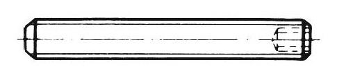 DIN 913 - Gewindestifte mit Innensechskant