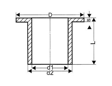 Isolierhülsen für metrische Gewinde
