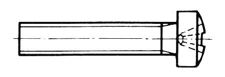 DIN 7985 - Linsenkopfschrauben mit Kreuzschlitz