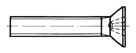 DIN 965 - Senkschrauben mit Kreuzschlitz