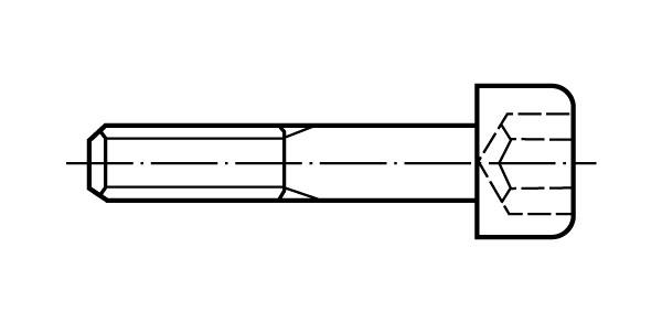 DIN 912 - Zylinderschrauben mit Innensechskant