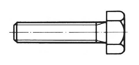 DIN 933 - Sechskantschrauben
